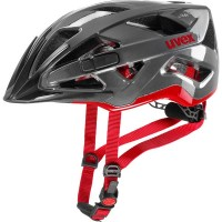 uvex active anthracite red
